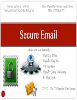 Nguyên tắc cơ bản bảo mật email