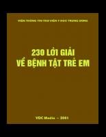 230 loi giai ve benh tat o tre em.pdf