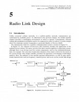 Radio Link Design