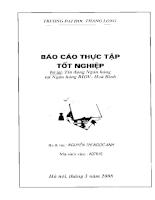 Báo cáo thực tập tại BIDV - Hòa Bình.PDF