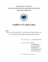 Phân tích sự hiểu biết và thái độ đối với đĩa nhạc lậu của người dân nội thành thành phố hồ chí minh.pdf