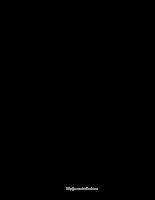 Các phương pháp gia công Polymer