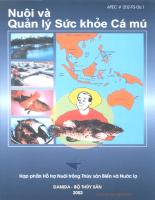 Tài liệu Sổ tay nuôi và quản lý sức khỏe cá mú.pdf