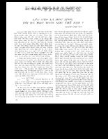 Tuyển tập 30 năm Tạp Chí Toán Học và Tuổi Trẻ (part1-5)