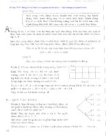 Bài tập cơ bản Giải tích lớp 11 phần III