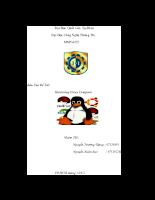 Báo cáo đề tài Hardening Linux Computer
