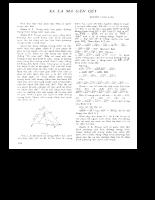 Tuyển tập 30 năm Tạp Chí Toán Học và Tuổi Trẻ (part2-2)