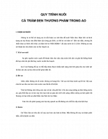 Tài liệu Hướng dẫn ký thuật nuôi cá trắm đen trong ao đất.doc