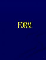 Form trong lập trình