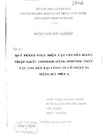 Quy trình thực hiện vận chuyển hàng nhập khẩu Clinker bằng phương thức tàu chuyến tại công ty cổ phần xi măng Hà Tiên 1.pdf