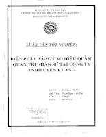 Biện pháp nâng cao hiệu quả quản trị nhân sự tại công ty TNHH Uyên Khang.pdf