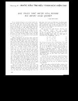 Tuyển tập 30 năm Tạp Chí Toán Học và Tuổi Trẻ (part4-4)