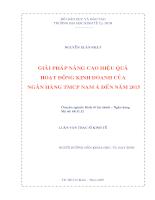 Giải pháp nâng cao hiệu quả hoạt đông kinh doanh của ngân hàng tmcp nam á.pdf