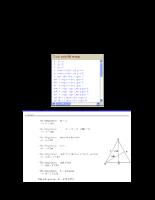 Hướng dẫn xử dụng chương trình học toán tam giác