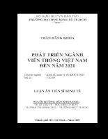 Phát triển ngành Viễn thông Việt Nam đến năm 2020.pdf