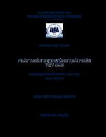 Định giá Công ty trên thị trường chứng khoán VN tại thời điểm phát hành thêm. Áp dụng cho Công ty Dược Hậu Giang.pdf