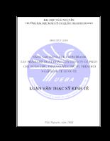 Nâng cao năng lực cạnh tranh sản phẩm chè xuất khẩu của Công ty cổ phần Chè Quân Chu, Thái Nguyên trước thềm hội nhập kinh tế quốc tế.pdf