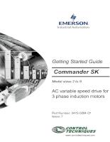 Tài liệu biến tần SK Commander