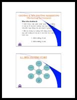 Tài liệu marketing căn bản - chương 2