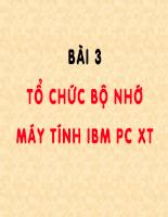 Bài giảng cấu trúc máy tính - P3