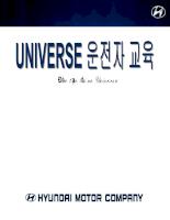 Hướng dẫn sử dụng và bảo dưỡng Hyundai Universe