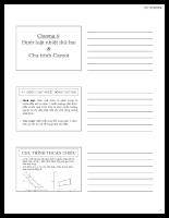 Giáo trình kỹ thuật nhiệt - Chương 4