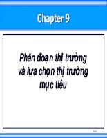 Bài giảng quan tri marketing 09