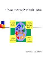 Bài giảng quản lý chất lượng