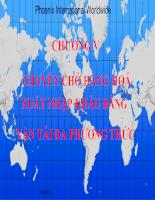 Slide bài giảng môn vận tải quốc tế - Chương vận tải đa phương thức
