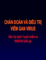 Chẩn đoán và điều trị viêm gan virus