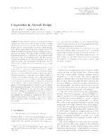 Cooperation in Aircraft Design