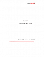 Giới thiệu và hướng dẫn sử dụng phần mềm microbank