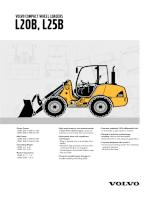 Catalogue máy xúc lật hãng VOLVO - P2