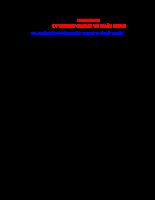 Chẩn đoán trạng thái kỹ thuật ô tô - Chương 8