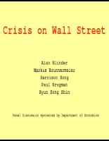 Slide về khủng hoảng tài chính -