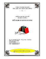 Đề án khởi sự kinh doanh - Sản xuất công ty vật liệu xây dựng Lạc Hồng.pdf