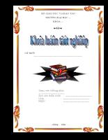 Mẫu bìa báo cáo 28