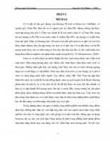 So sánh tốc độ sinh trưởng của cá rô phi chọn giống dòng NOVIT 4 ( Oreochromis niloticus) ở 2 ngưỡng nhiệt độ khác nhau