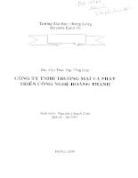 Báo cáo tại công ty THNN thương mại và phát triển công nghệ Hoàng Thành.PDF