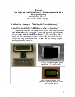 tài liệu về thiết bị hiển thị LCD