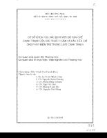 Cơ sở khoa học xác định mức độ hạn chế cạnh tranh của các thỏa thuận và các tiêu chí cho phép miễn trừ trong luật cạnh tranh.pdf