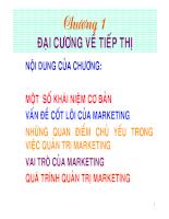 Bài giảng marketing quốc tế CHAPTER 1
