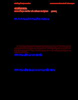 Giáo án kỹ thuật đo lường - Chương 10