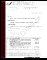 Mẫu Thủ tục kiểm soát hồ sơ của ủy ban nhân dân tỉnh