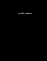 Giáo trình thủy lực cấp thoát nước - Chương 15