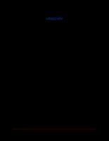 Bản thuyết minh đồ án hiển thị led matrix