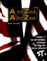 Editorial Stanley Publishing A To Zed or A To Zee