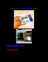 Đề thi vào ngân hàng - Nghiệp vụ thẻ Vietinbank