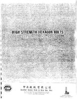 Tiêu chuẩn kỹ thuật của mỹ về bu lông, đai ốc astm a325, a490
