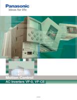 Biến Tần Panasonic VF-0 Và VF-CE Series